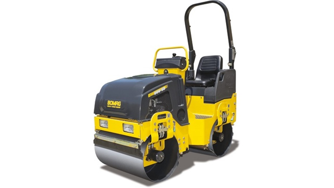 BoMag Pavement Roller